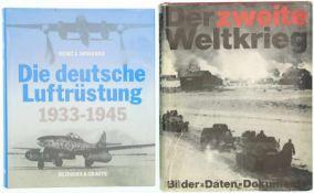 Konvolut 2 Bücher 1. Die deutsche Luftrüstung, 1933 - 1945,Teil 1: Flugzeugtypen AEG-Dornier.