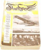 """Konvolut von 17 Heften """"Flugsport"""" 1937/38 Illustrierte technische Zeitschrift und Anzeiger für"""