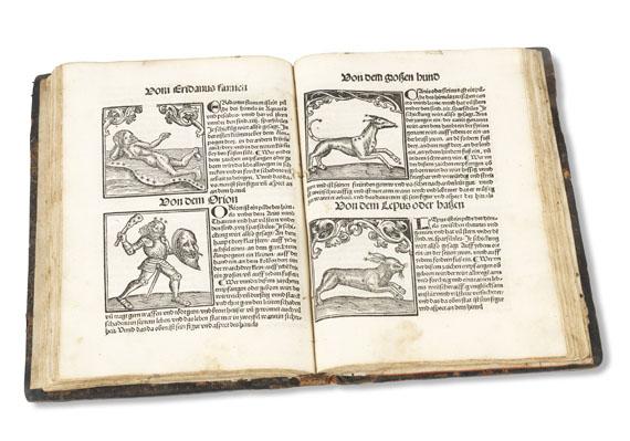 Lot 15 - Johannes Regiomontanus Kalendarius teütsch. Augsburg, Joh. Sittich 1512. Sehr seltener, reich mit