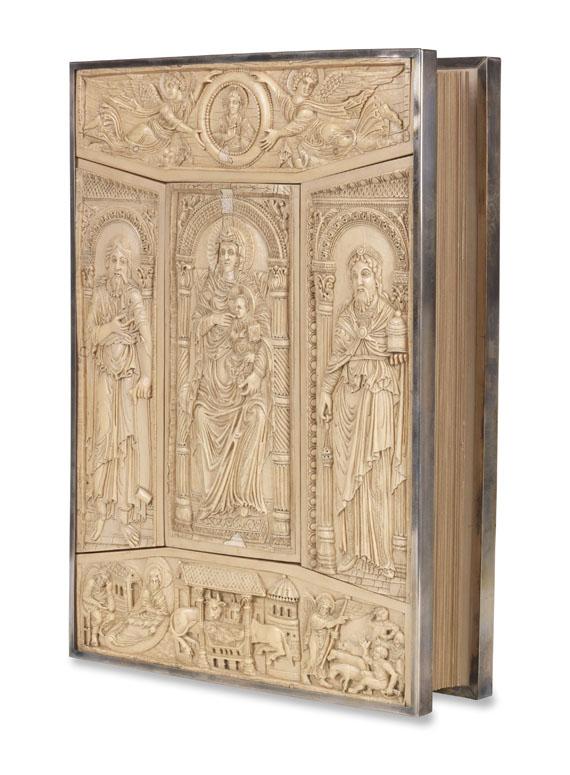 Lot 57 - Das Lorscher Evangeliar Luzern, Faksimile-Verlag und Vatikan, Biblioteca Apostolica 2000.