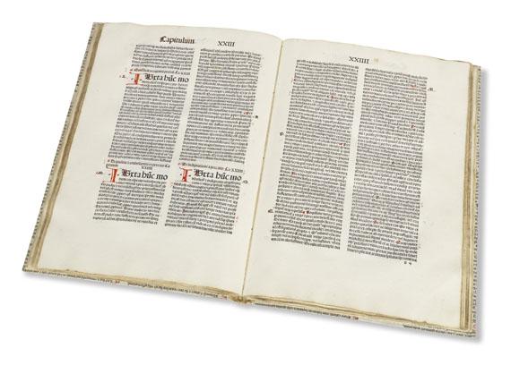 Lot 11 - Guillelmus Alvernus Rhetorica divina. [Freiburg im Breisgau, Kilian Fischer, nicht nach 1491]. Das