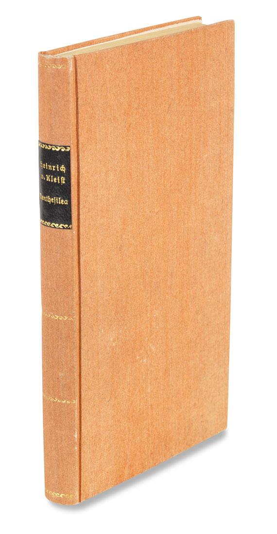 Lot 50 - Heinrich von Kleist Penthesilea. Ein Trauerspiel. Tübingen, 'im Verlage der Cottaischen Buchhandlung