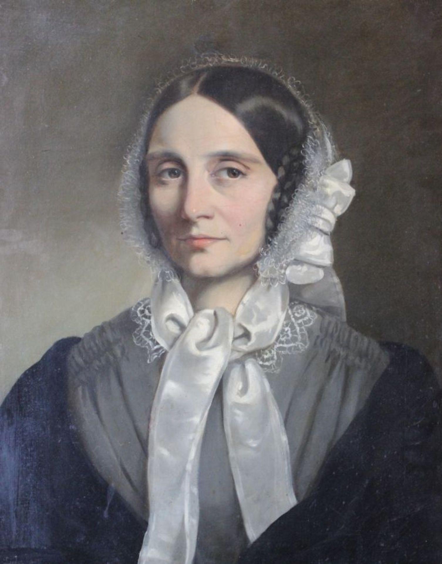 "Los 38 - Gemälde - Friedrich Johann Gottlieb LIEDER (1780 Potsdam -1859 Budapest) ""Damenbildnis"", l.u."