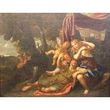 Gemälde - Variante nach Domenichino (Bologna 1581-1641 Neapel) bzw. nach Annibale Carracci (1560