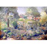 Ludwig Wilhelm Grossmann, 1894 Straßburg - 1960 MünchenDer französisch-deutsche Maler Grossmann