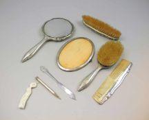 Sammlung von Silber-ObjektenSilber 800/Silber 830/Silber 835, jeweils entsprechend mit Feingehalt