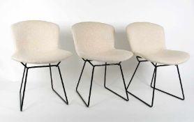 Harry Bertoia1915 San Lorenzo/Italien - 1978 Pennsylvania3 Side ChairsMetall, lackiert, Original