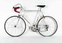 PeugeotRennrad10 Gang-Rahmenschaltung; 80er Jahre; 23 Zoll RäderPeugeotRacer10-speed gera shift;