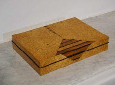 Ulrike Scriba Zweiteilige Schatulle Zweiteilige Schatulle, Ulrike Scriba (1944- ), Höhe: 7,5cm x