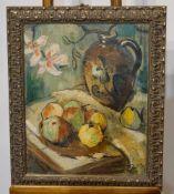 Paul Gerhardt Stillleben mit Krug Stillleben mit Krug, Paul Gerhardt, 1953, 50 x 66 cm, neu gerahmt,