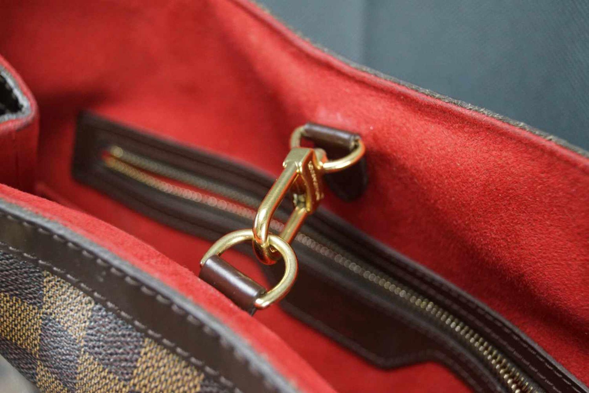 Louis Vuitton Handtasche Damier Hampstead PM, Höhe ca. 22 cm x Breite ca. 34 cm, Date Code TH3058, - Bild 3 aus 6