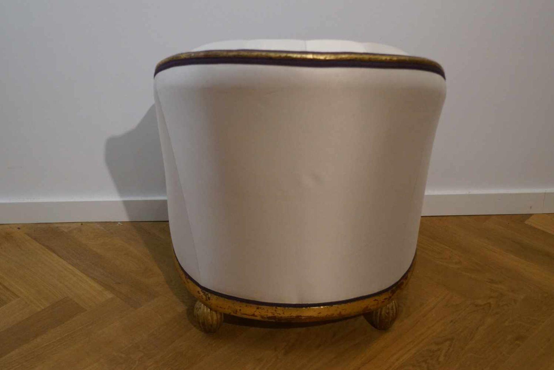 Bergère, Art-Deco20er Jahre, Höhe 84 cm x Breite 61 cm x Tiefe 78 cm, in einem guten Zustand - Bild 3 aus 4