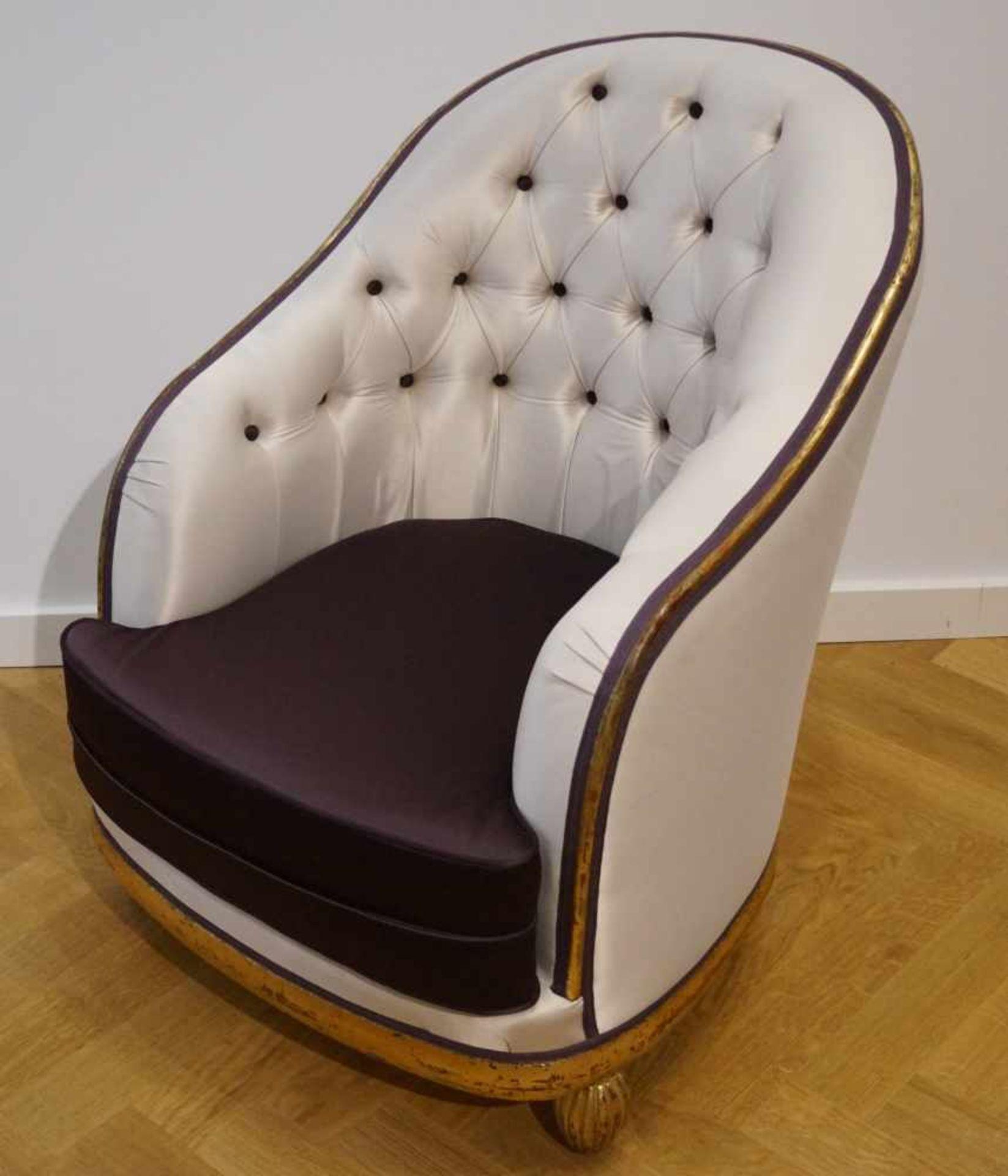 Bergère, Art-Deco20er Jahre, Höhe 84 cm x Breite 61 cm x Tiefe 78 cm, in einem guten Zustand