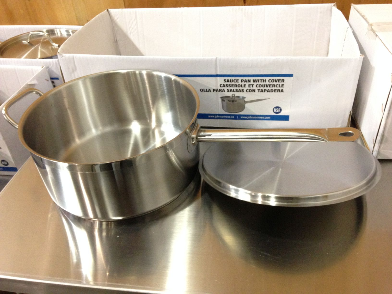 Lot 58 - 7.5qt Heavy Duty Sauce Pan Induction Capable