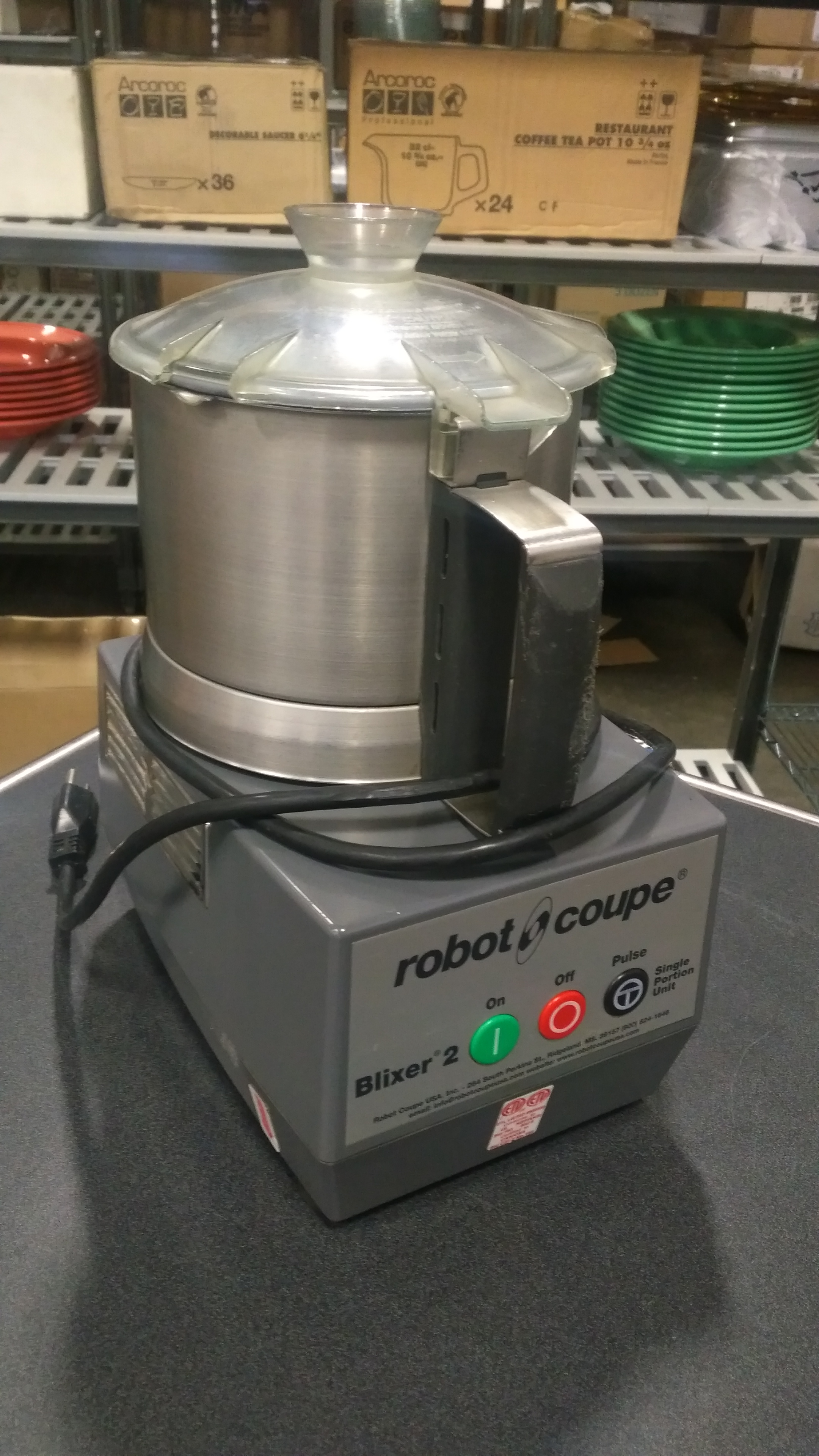 Lot 21 - Robot Coupe Blixer 2, tested/working