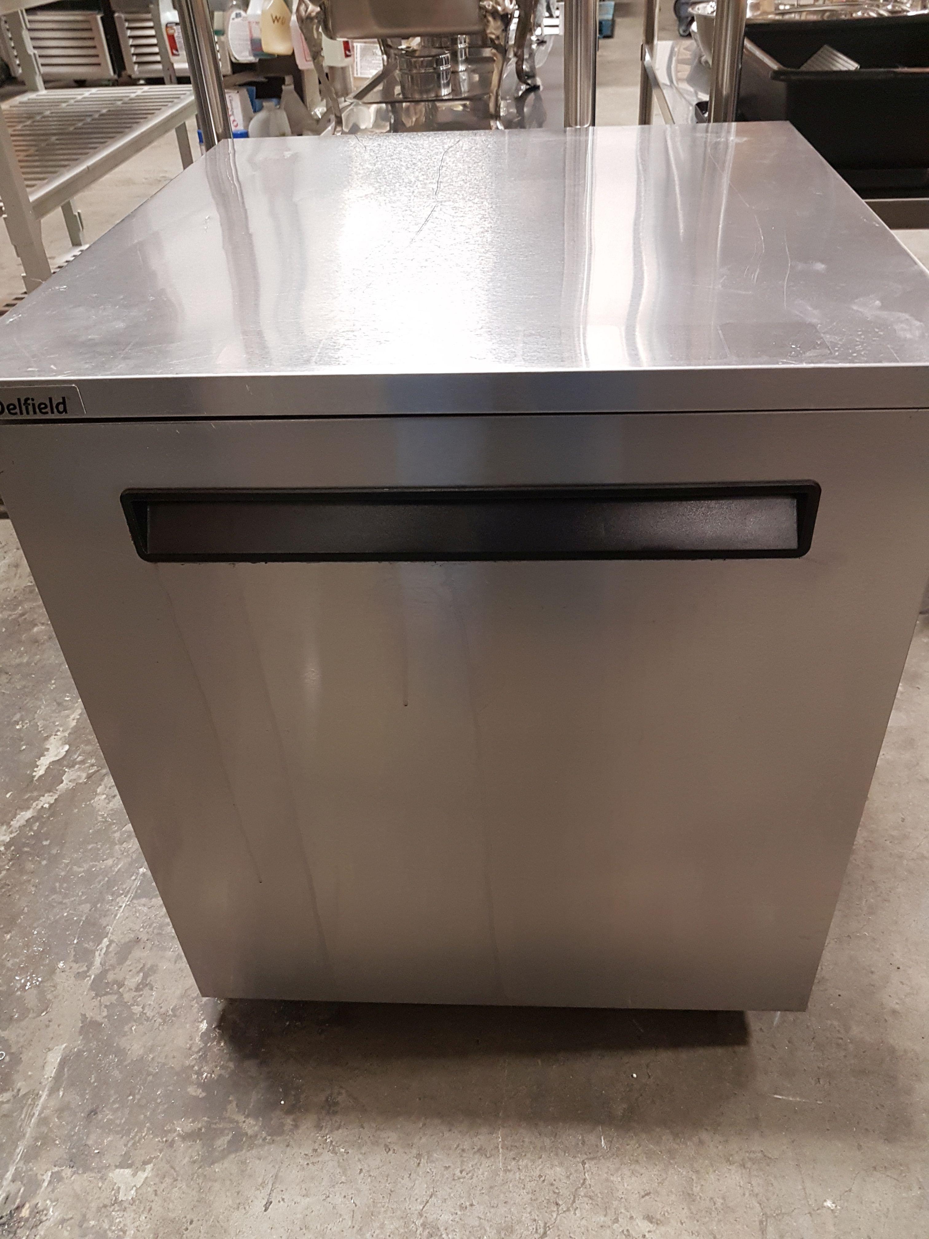 Lot 9A - Delfield Single Door Under Counter Cooler