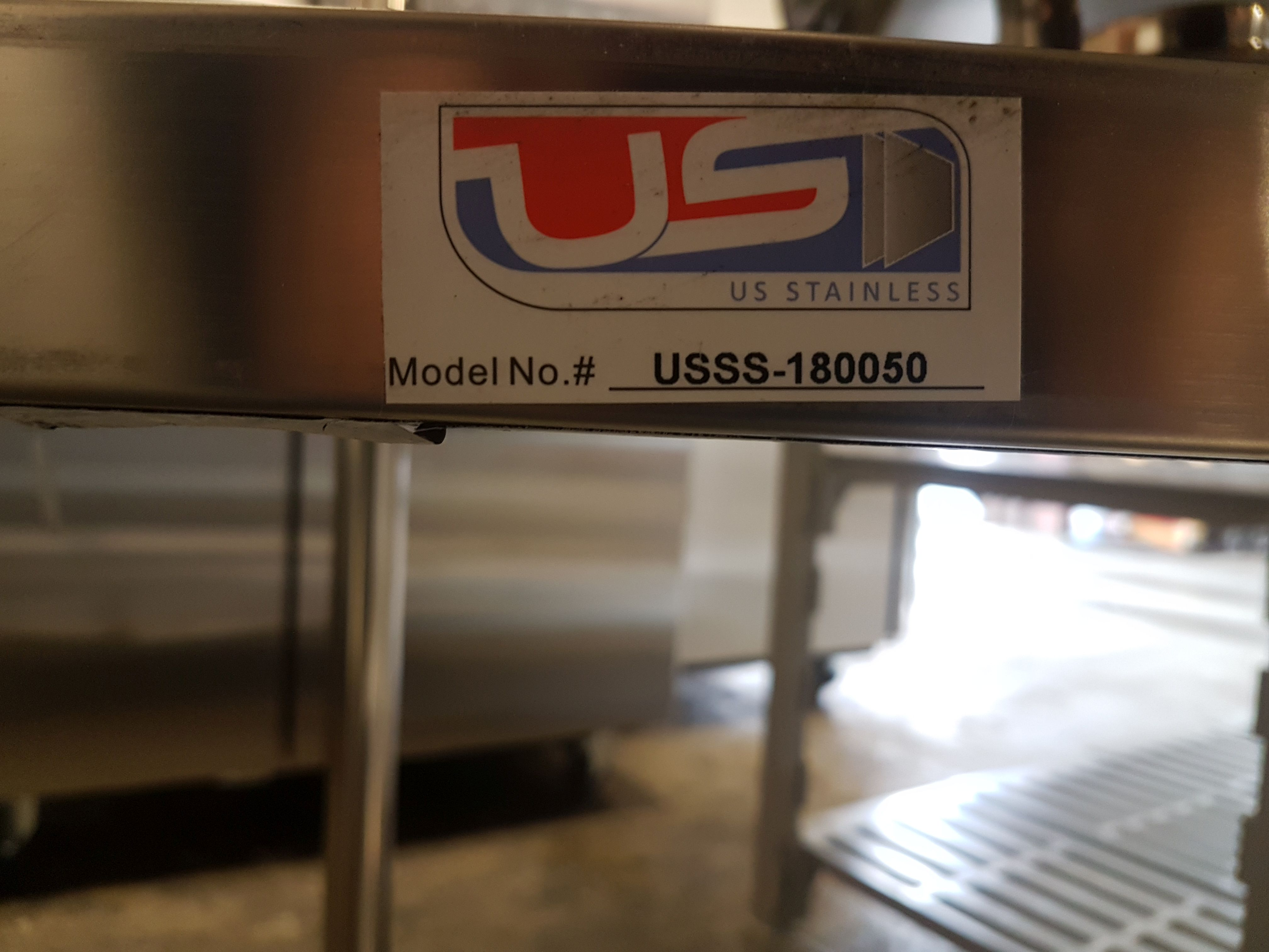 """Lot 9 - 19.5"""" x 70.5"""" x 72"""" All Stainless 4 Shelf Unit - USSS-180050"""