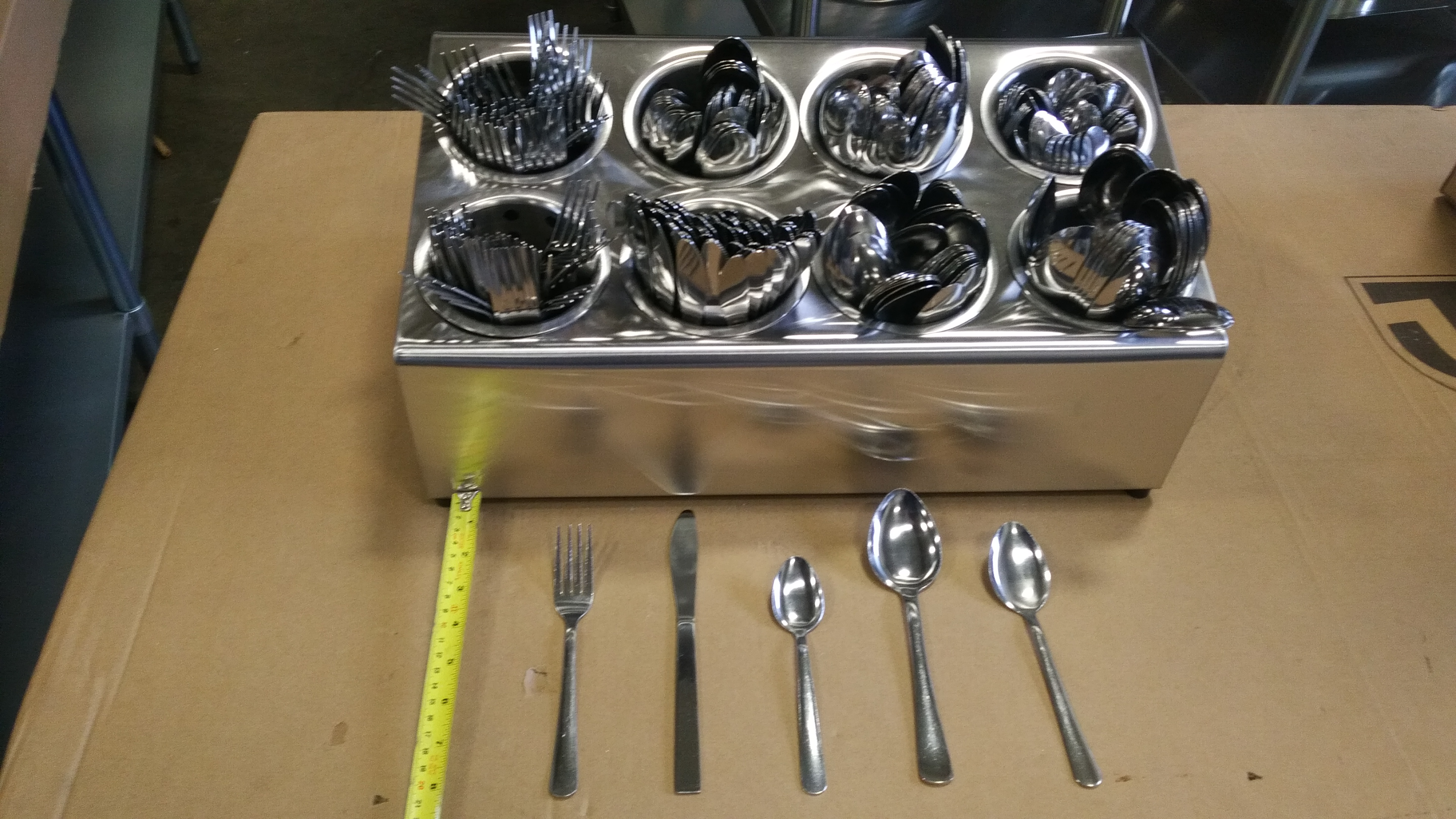 Lot 17 - Auctioneer Special - Cutlery & Bin