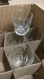Lot 10 - Arcoroc 8.5oz Petale Rocks Glasses - Lot of 16