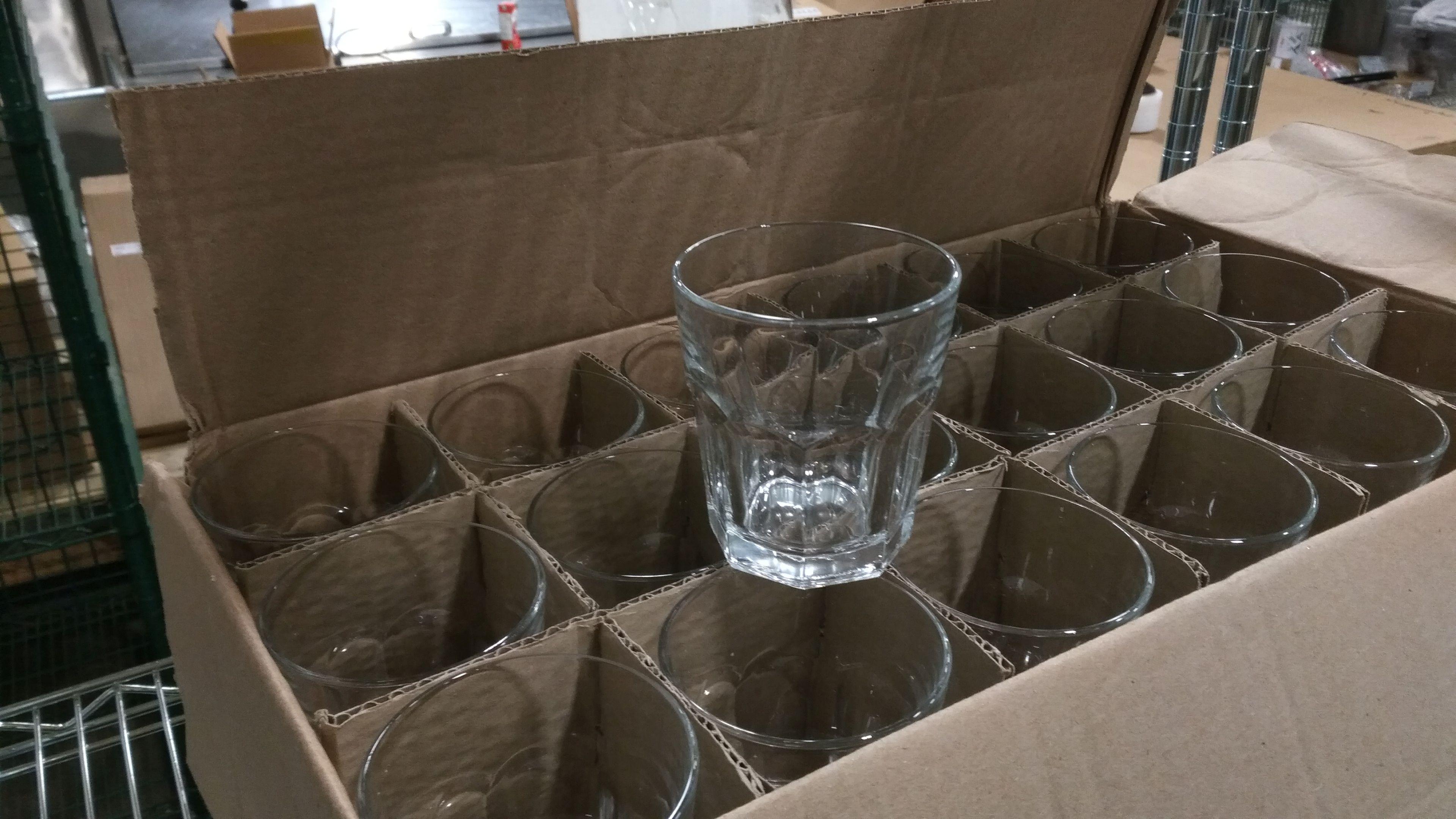 Lot 35 - Libbey 12oz Double Rocks Glasses - Lot of 34