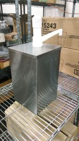 Lot 12 - San Jamar P9800 1 Gallon Jar Condiment Pump Box