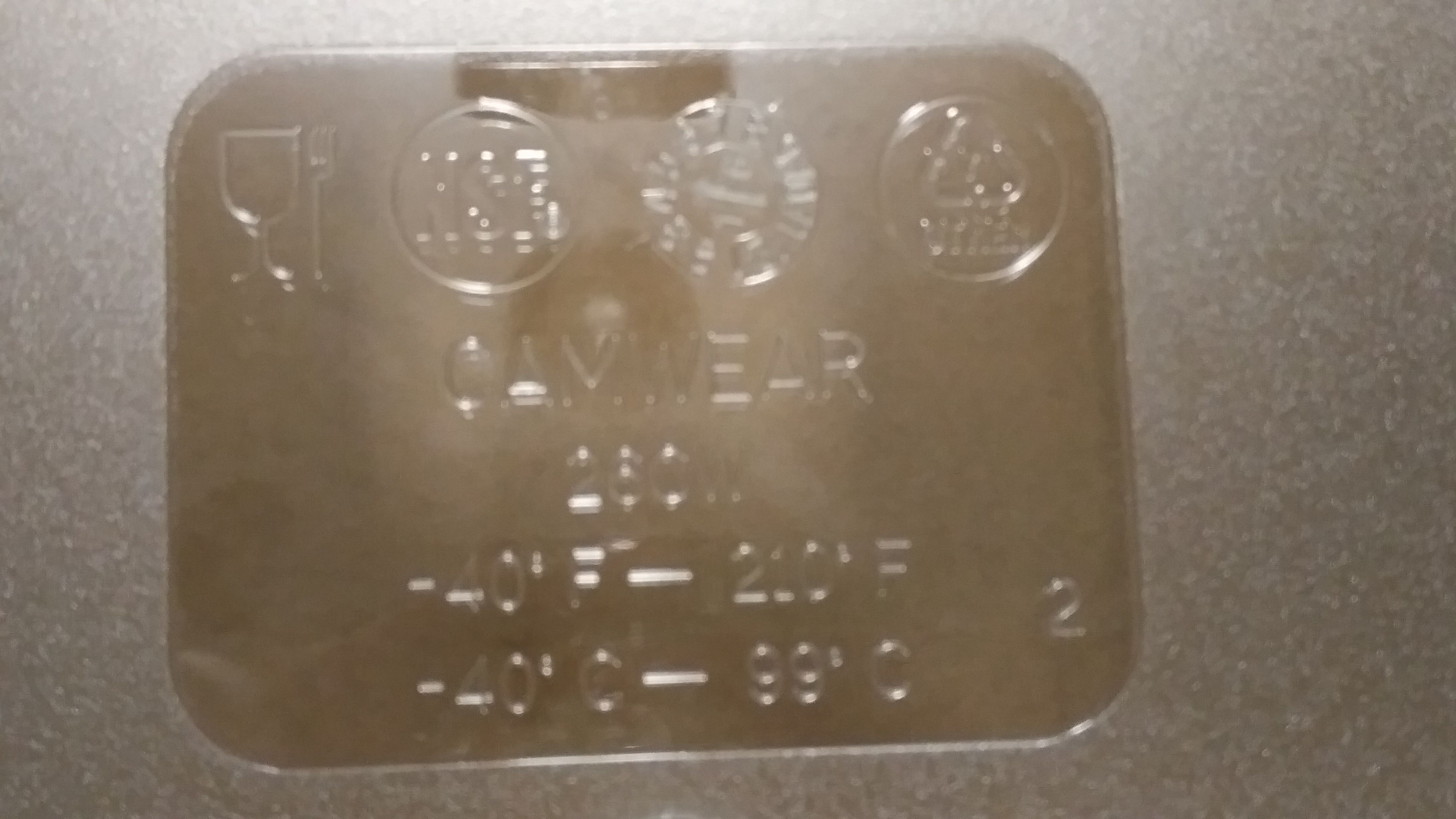 """Lot 6 - Cambro 1/2 Size 6"""" Deep Food Pan with Lid - Lot of 2 (4 pcs)"""