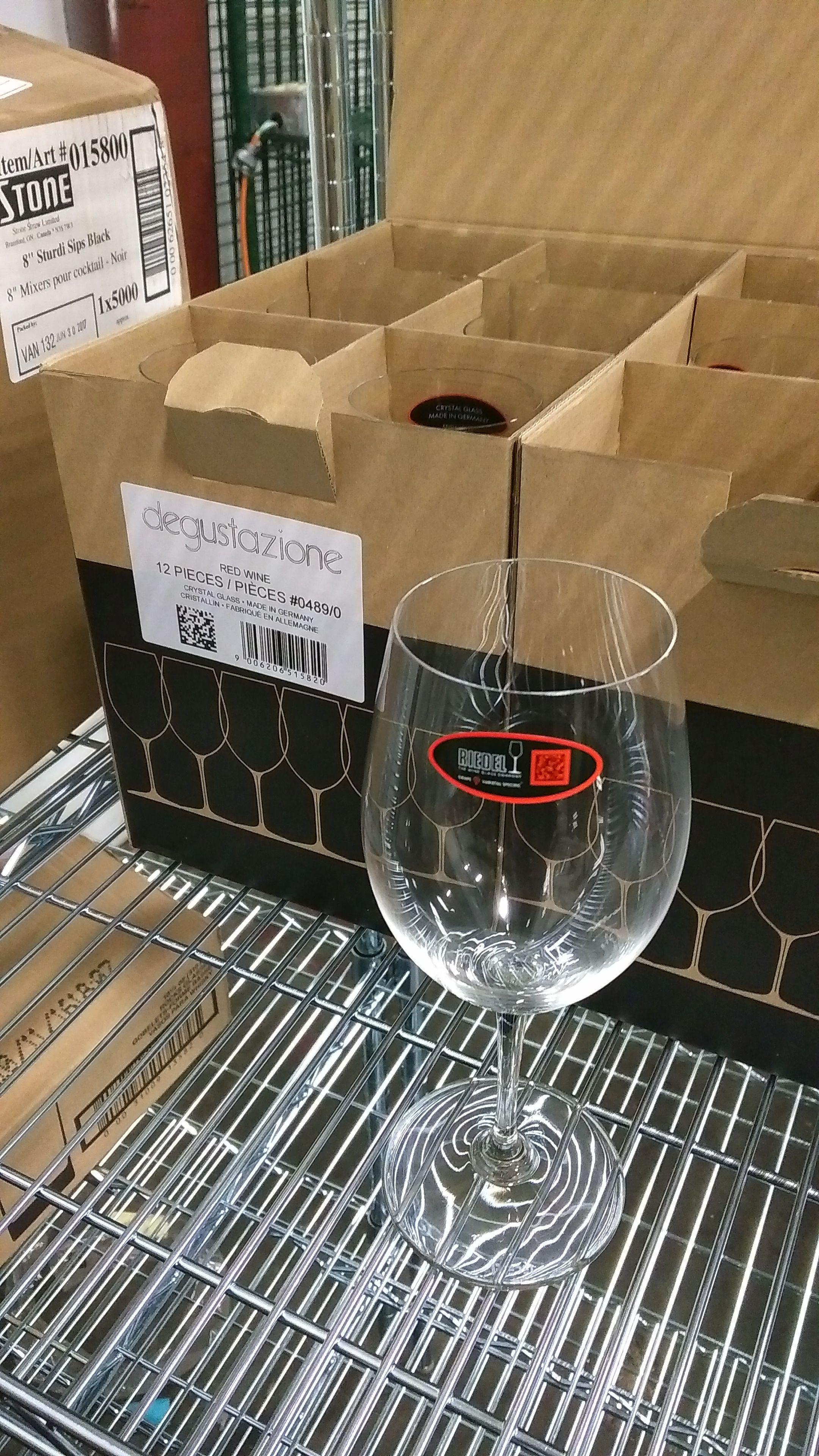 Lot 32 - Riedel 19.75oz Degustazione Red Wine Glasses - Lot of 12