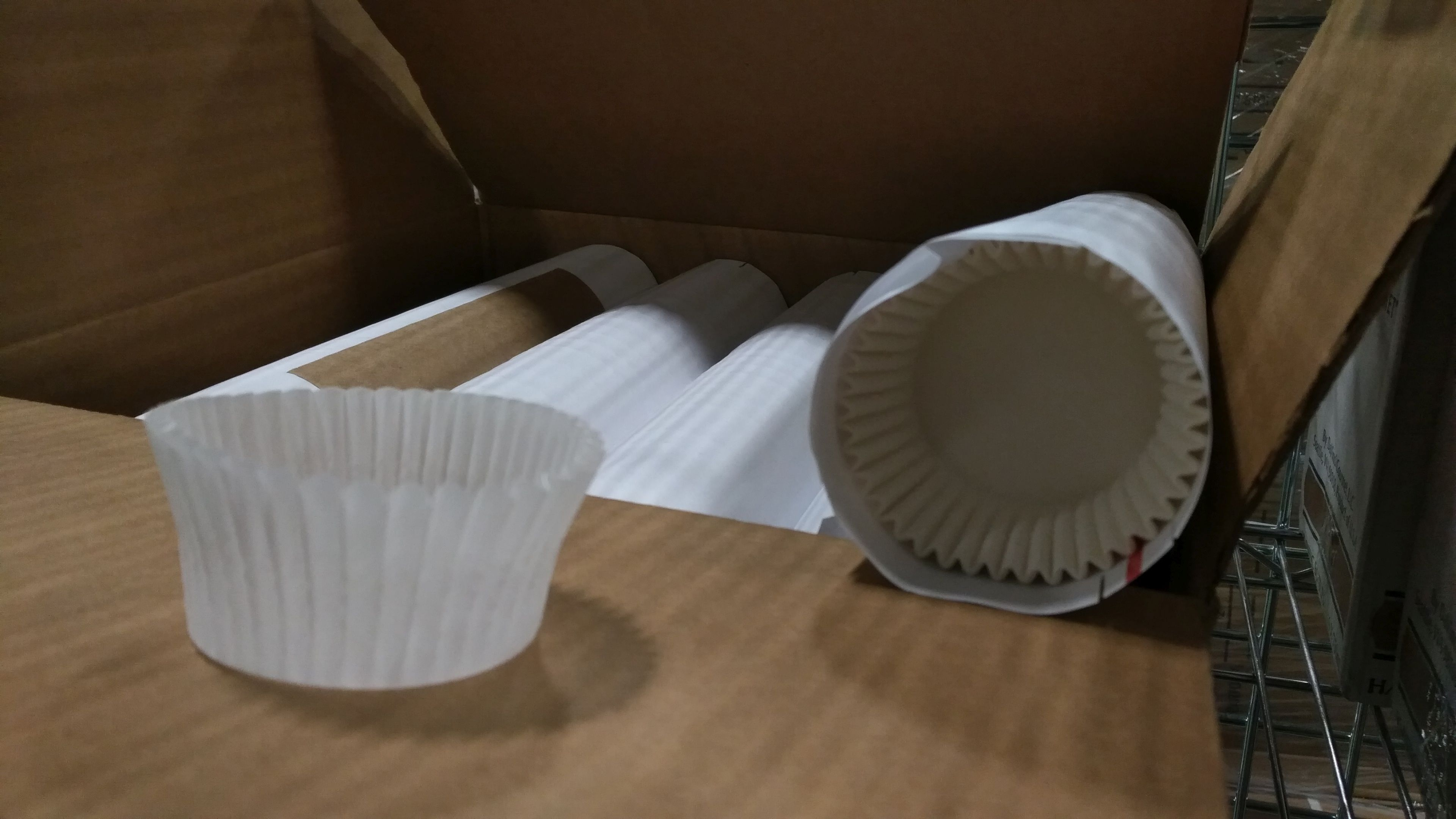 """Lot 56 - White Baking Cups, 2"""" x 4.5"""" x 1.25"""" - Lot of 5000"""