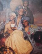 Gabriel Morcillo (Granada, 1887 - 1973) Oil on canvas. 76 x 55 cm.