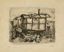 Celso Lagar (Ciudad Rodrigo, 1891 - Sevilla, 1966) Litografía firmada a lápiz y numerada 3/50. 31