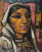 José Vela Zanetti (Milagros, Burgos 1913 - Burgos, 1999) Oil on canvas. Signed. Circa 1950. 53 x