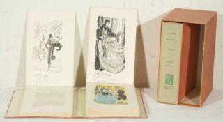 "Emili Grau Sala (Barcelona, 1911-1975). ""De L'amour"". Sthendal. Two volumes, illustrated with"