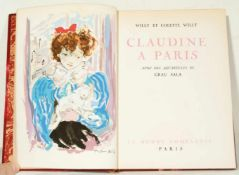 """Emili Grau Sala (Barcelona, 1911-1975) and Willy et Colette Willy. """"Claudine à Paris"""". Illustrations"""