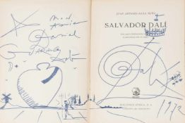 Salvador Dalí (Figueres, 1904 - 1989) Felt tip pen drawing on paper. Signed and dated in 1972. Drawn