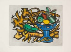 Fernand Léger (1881 - Gif-sur-Yvette, France, 1955) Aquatint and etched print on paper. Signed in