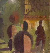 """Alfred Reth (Budapest, 1884 - Paris, 1966) """"Personnage"""" Oil on panel. Signed and dated in 1939. 30 x"""