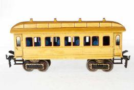 """Märklin Pullmann Personenwagen 1841, S 1, umlackiert auf """"Twenty Century Limited"""", mit"""