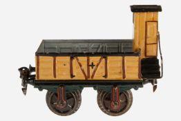 Märklin offener Güterwagen 1817, S 1, uralt, HL, L 14, Z 2