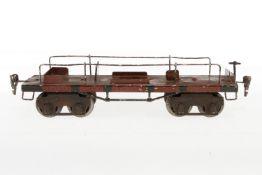 Märklin Flugzeugtransportwagen 1881, S 1, HL, ohne Flugzeug, LS, L 28, Z 2-3