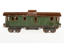 Märklin Gepäckwagen 1889, S 1, CL, mit 4 AT und 2 ST, NV, LS, L 33, bespielt