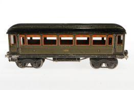 Märklin Personenwagen 1886, S 1, CL, mit 4 AT, LS, L 33, bespielt