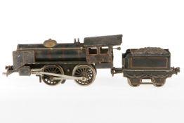 Märklin B-Dampflok R 1041, S 1, Uhrwerk zäh, HL, mit Tender, NV, als Ersatzteil