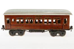 Märklin Mitropa Schlafwagen 1886, S 1, CL, mit 4 AT, LS und gealterter Lack, L 33, Z 2-3