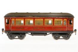 Märklin Mitropa Schlafwagen 1888, S 1, CL, mit Inneneinrichtung, 4 AT und Gussrädern, 1 Trittstufe