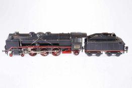 Märklin 2-C-1 Dampflok HR 66/12920, S 0, elektr., schwarz, mit Tender und 2 el. bel. Stirnlampen, tw