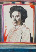 Gorella, Arwed Dieter (Schweidnitz/Schlesien, Berlin 1937-2002) Porträt Rosa Luxemburg, 1972.