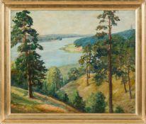 Betyna, Paul (Berlin, Wernigerode 1887-1967) Blick von den Dachsbergenauf die Havel und den