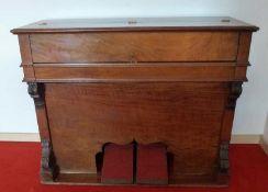 Zimmerharmonium, John G. Murdoch, London, um 1900 Palisander, schlichter Aufbau auf Konsolen, 5