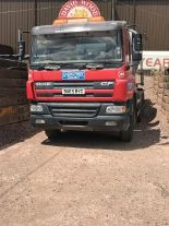 Lot 307 - 2005 (June) DAF CF75 310 6 wheel CONCRETE MIXER, 26,000kg gross, L&T 6m3 equipment fitted, 306,000