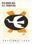Braque, Georges Derrière le Miror, Edition 112, 1958 Seitenanzahl: 16